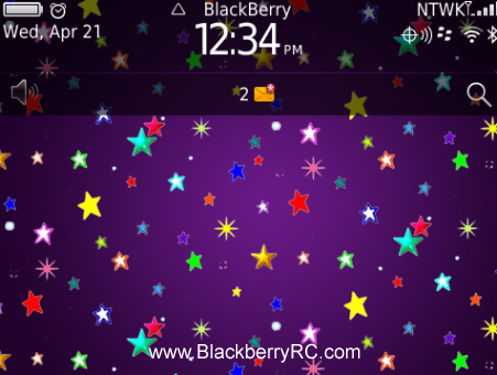 Colorful star night 99xx bold themes free blackberry themes download colorful star night 99xx bold themes altavistaventures