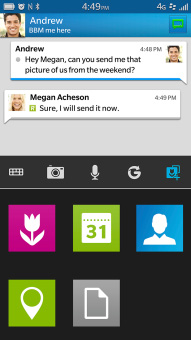<b>BBM 10.7.5.30 for bb classic, passport apps</b>