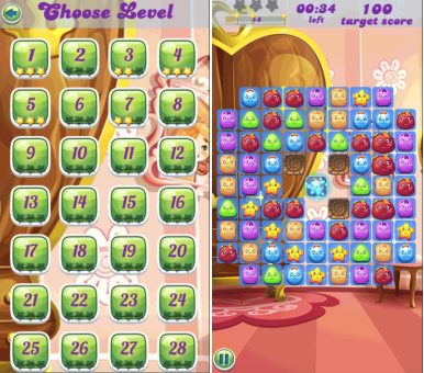 Candy Cartoon Crush 1 0 0 1 Free Blackberry Games Download
