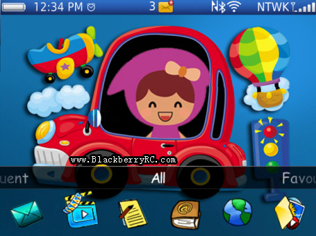 Doodle Cutie Baby 99xx bold themes