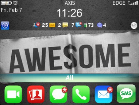 Awesome Lee 99xx bold themes