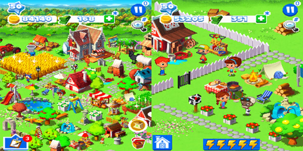 Green Farm 3 for 99xx games - free blackberry games download
