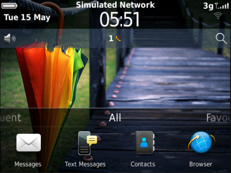 <b>Colorful Umbrella Theme with New OS7 Icons</b>
