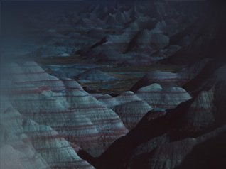 <b>Dark Mountain Blue Dessert blackberry wallpaper</b>