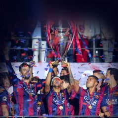 <b>Barcelona FC Champoions Sports Win wallpaper</b>