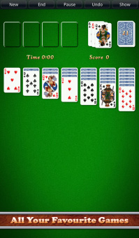 <b>Solitaire City 1.23 for blackberry 10 game</b>