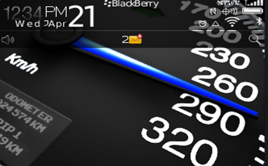 <b>Black Speed Theme for 99xx bold os7</b>