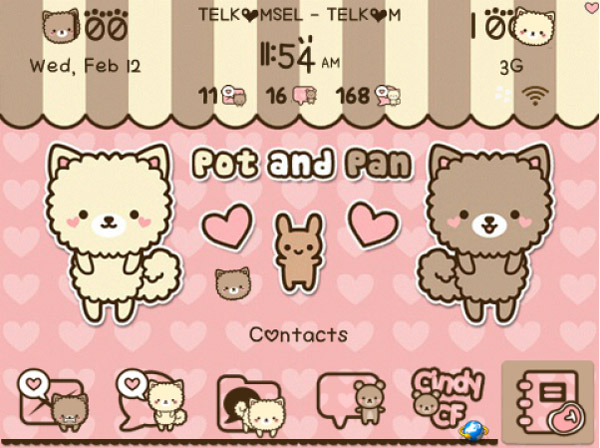 <b>Pot and Pan paid theme</b>