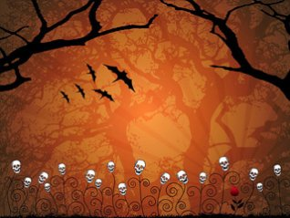 <b>Hallowe'en wallpaper for bb 9788, p9981 phone</b>