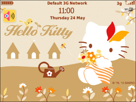 Hello Kitty Flowery Autumn OS4-OS7