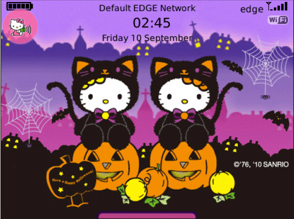 Hello Kitty Halloween Theme