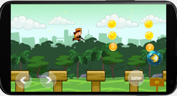The Fighter Boy 1.0.1 for blackberry game