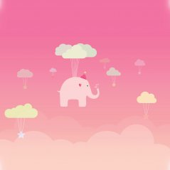 <b>cute elephant illustration 1440x1440 passport wal</b>