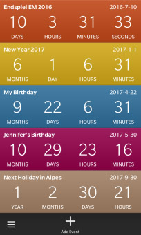 Countdown Timer v1.0.0.2 for blackberry apps