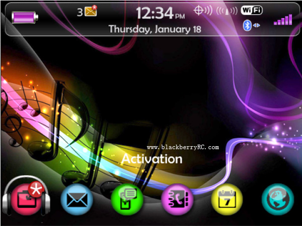 Themes - free BlackBerry Themes download, Best Blackberry Storm