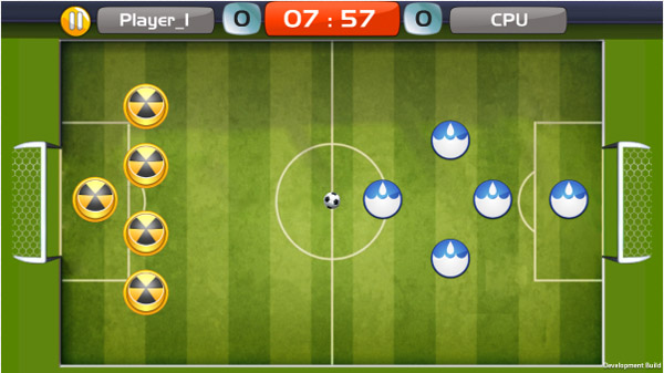 Finger Soccer v1.0.0.1 for blackberry 10 games