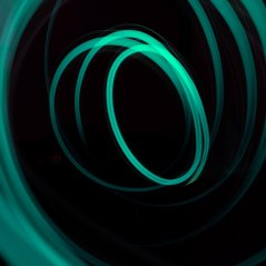 circle light 1440x1440 wallpaper