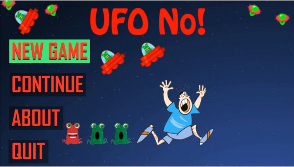 UFO No! for blackberry games