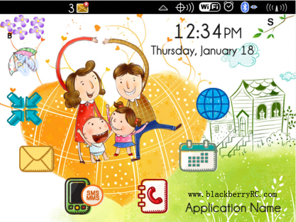 <b>Ever Happy Life theme for blackberry download</b>