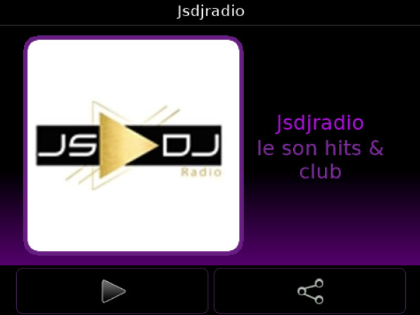 Jsdjradio v3.8.10 for blackberry apps