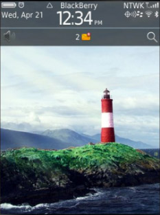<b>Light House for blackberry 98xx themes</b>